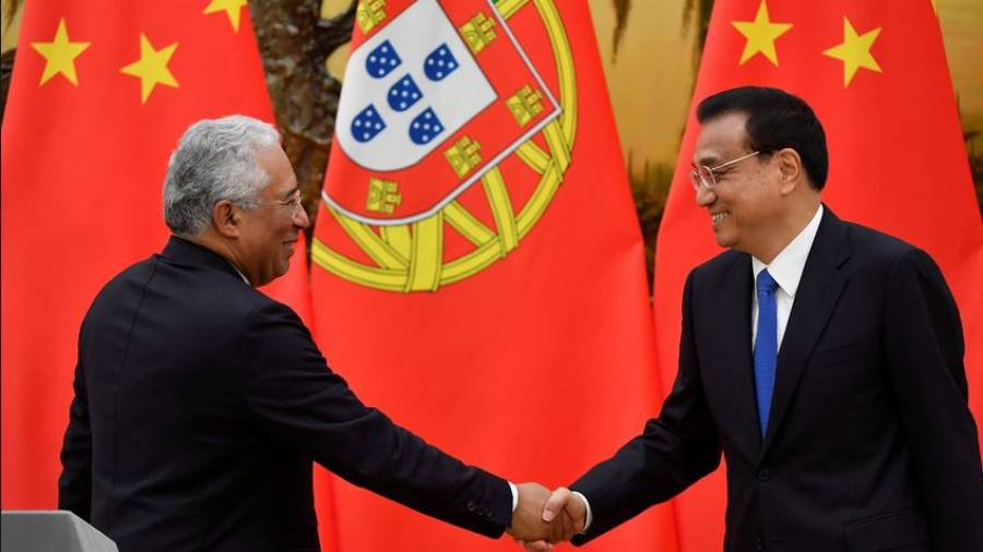 Portugal e China assinam 17 acordos bilaterais